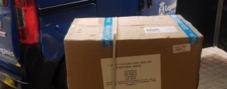 El Ayuntamiento de Leganés entrega 4.000 test rápidos de Coronavirus al Hospital Severo Ochoa