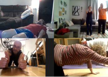 A grandes males, granito de arena: pilates online