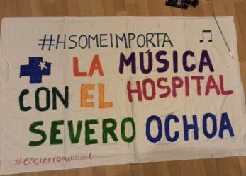 Donaciones de la Escuela de Música al Hospital Severo Ochoa
