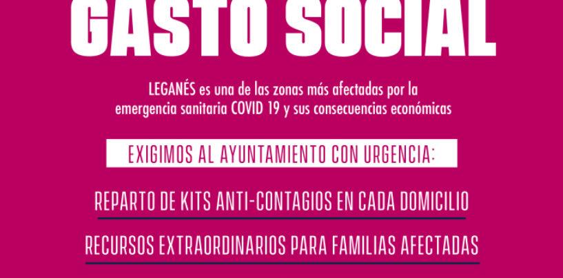 En Leganés: Superávit municipal para gasto social