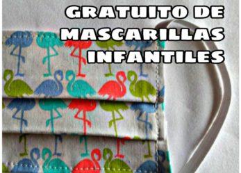 Reparto gratuito de mascarillas infantiles para l@s niñ@s de Arroyo Culebro