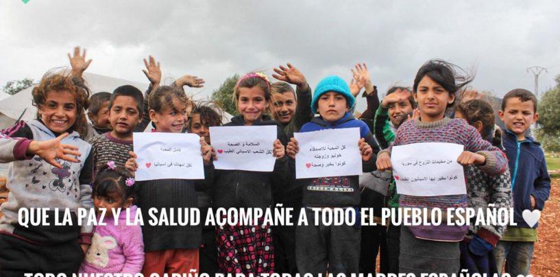 La Asociación de Apoyo al Pueblo Sirio donó material sanitario a la sanidad madrileña