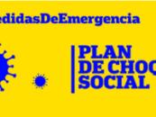 El Plan de Choque Social pretende mitigar los efectos sociales del COVID 19