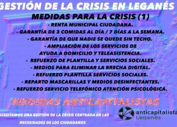 Gobierno municipal y gestión de la crisis