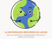 La naturaleza recupera su lugar: la contaminación se reduce debido al confinamiento y la tierra respira