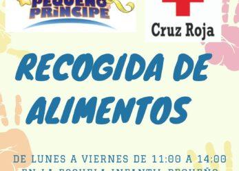 Campaña solidaria con Cruz Roja: recogida de alimentos