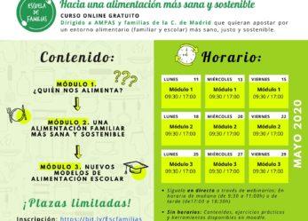 Curso Online Gratuito: Hacia una alimentación más sana y sostenible
