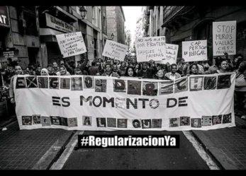 Por la regularización ya de las personas migrantes