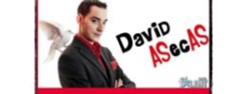 Los días 3, 4 y 5 de julio, estará el gran David ASecAS sorprendiendo en el Teatro Rey de Pikas