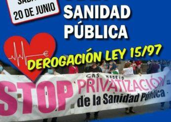 Manifestación en Madrid para el día 20 de junio de Atocha al Hospital Infantil Niño Jesús
