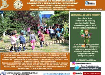 ASORBAEX celebra El Día Mundial del Medio Ambiente dedicado a la Biodiversidad