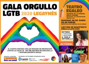 Orgullo LGTBI 2020 Legaynés en tiempos de COVID 19