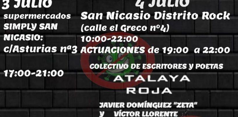 Recogida de alimentos y actuaciones en San Nicasio Distrito Rock