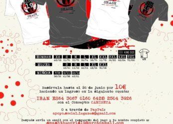 Camiseta solidaria Smash the Covid-19