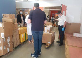El Ayuntamiento de Leganés entrega 5.000 nuevos test rápidos de Coronavirus al Hospital Severo Ochoa