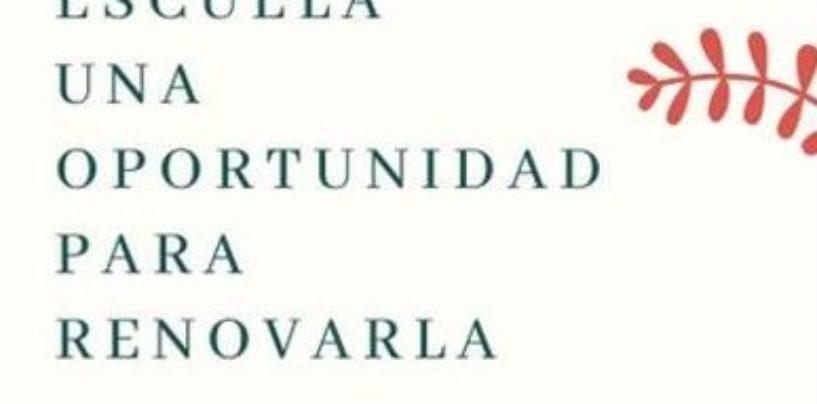 """""""La vuelta a la escuela: una oportunidad para renovarla"""" encuentro virtual del 15 de junio"""