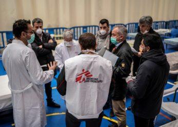 El Ayuntamiento homenajea a Protección Civil y a Médicos Sin Fronteras por el trabajo realizado en el Hospital de Campaña de Leganés