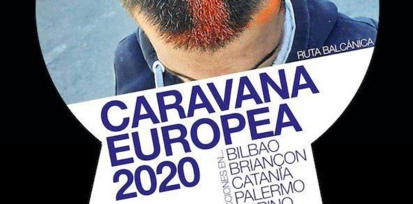 Una caravana europea reivindica derechos para las personas migrantes en Valencia, Bilbao e Italia