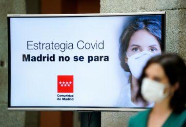 Estrategia frente al COVID-19 para que Madrid no se pare