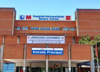 La junta de personal del Hospital Severo Ochoa agradece el apoyo de Leganés