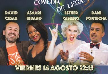 """Cómicas y cómicos televisivos en """"El Monstruo de la Comedia"""" de Leganés"""