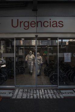 Trabajadoras alertan del colapso de la UCI del Hospital Severo Ochoa de Leganés