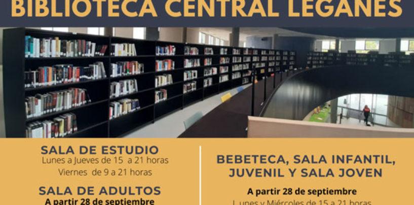 La Biblioteca Central comenzará a prestar servicio a partir del próximo lunes 21