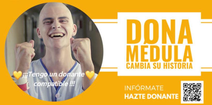 El Ayuntamiento de Leganés colabora con la campaña de donación de médula ósea 'Cambia su historia'