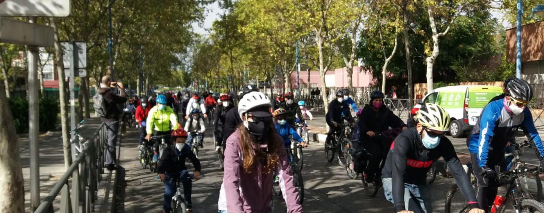 Éxito de participación en la segunda bicicletada en Leganés