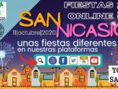 San Nicasio 2020, fiestas online