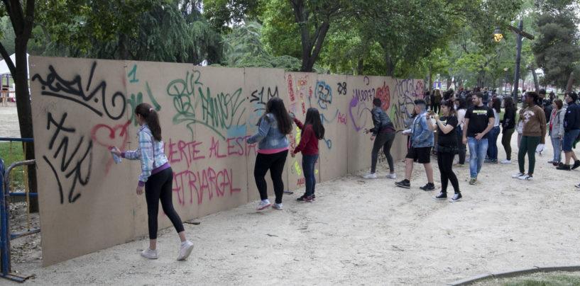 Jóvenes de Leganés crearán un mural colaborativo en el Centro Dejóvenes dirigidos por los artistas internacionales Suso 33 y Ju Mu