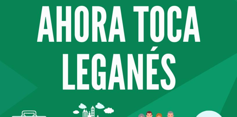 Ahora, más que nunca, tocapensar en Leganés