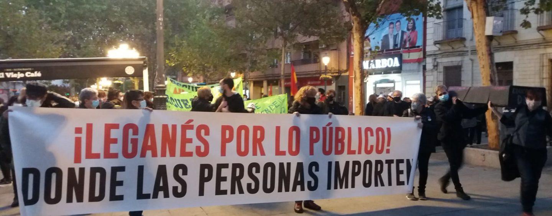 Informativo Leganenses – 31 de octubre de 2020 – Manifestación vecinal 29O y Rosa del Grupo de Apoyo al CAID de Leganés