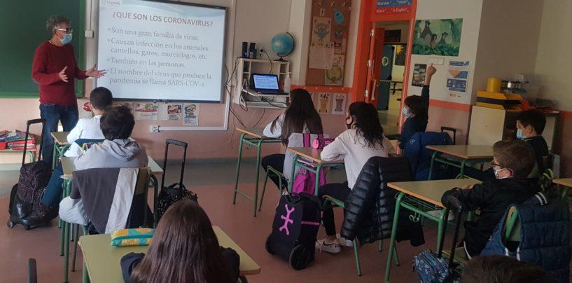 3.700 jóvenes asisten a las charlas sobre métodos de prevención ante la Covid-19 que el Ayuntamiento imparte en 185 aulas de Leganés