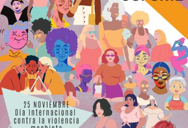 25 noviembre: Día internacional contra la violencia machista
