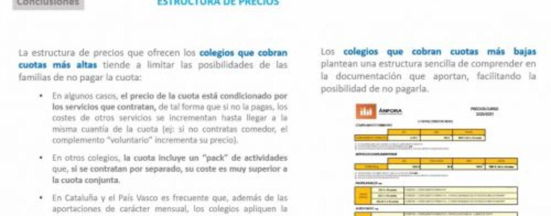 CEAPA y CICAE denuncian falta de transparencia en las cuotas que exigen colegios concertados