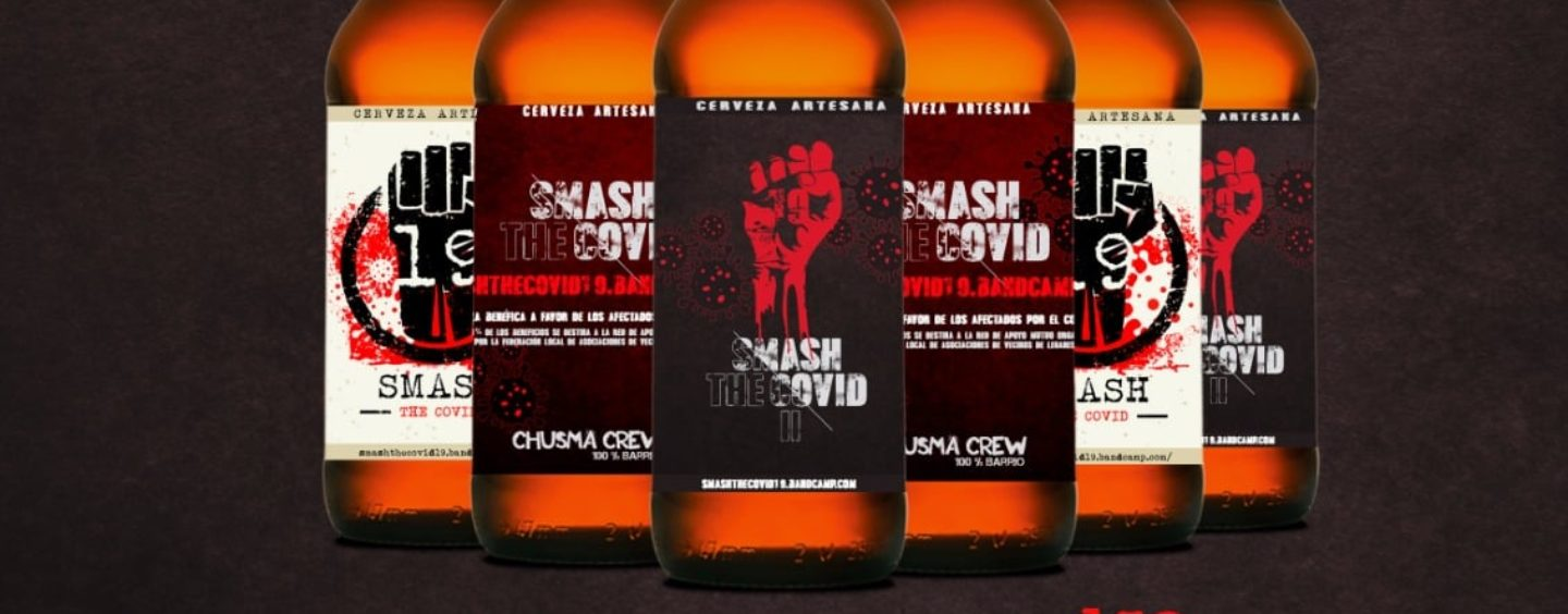 Pack de 6 cervezas artesanas Smash the Covid