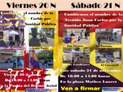 Ven a firmar este viernes 20 y sábado 21 para cambiar la avenida principal de Leganés por Avenida de la Sanidad Pública