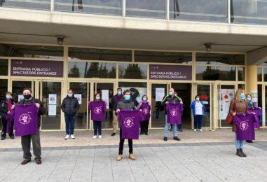 Leganés alza la voz contra la violencia machista en un año en el que 41 mujeres han sido asesinadas en España