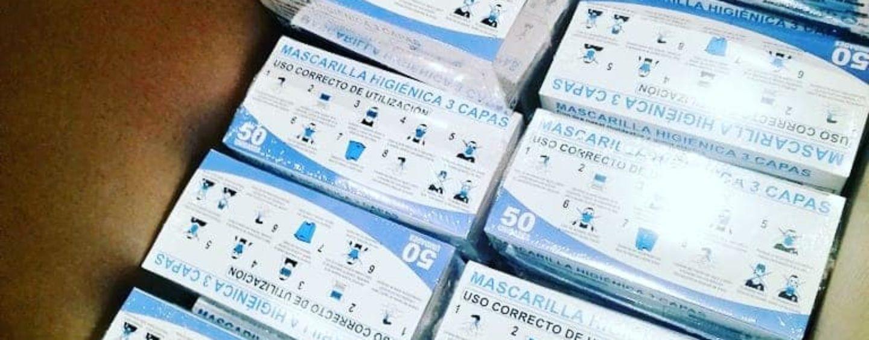 1500 mascarillas repartidas en Arroyo Culebro