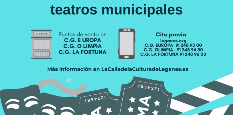 Nuevo sistema de venta de entradas para los espectáculos culturales en teatros municipales de Leganés