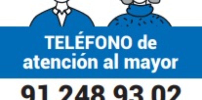 El Ayuntamiento de Leganés pone en marcha el Teléfono del Mayor, un servicio de atención, información y ayuda a los vecinos y vecinas de más edad