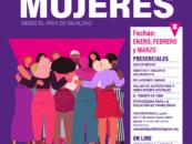 Talleres 2021 para mujeres. Área de Igualdad.
