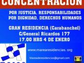 Concentración: Gran Residencia (Caranbanchel)