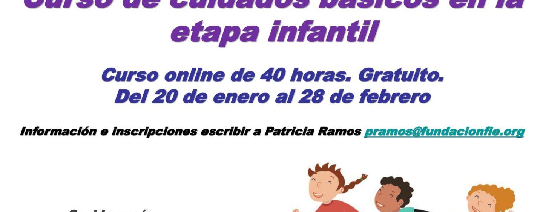 CEPI: Curso online de cuidados básicos en la etapa infantil