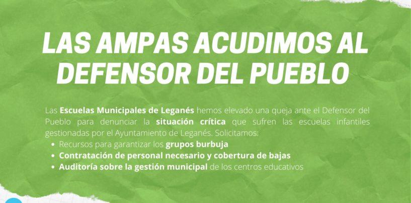 El Defensor del pueblo requiere urgentemente información al Ayuntamiento de Leganés