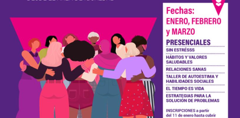 Talleres 2021 para mujeres. Área de Igualdad