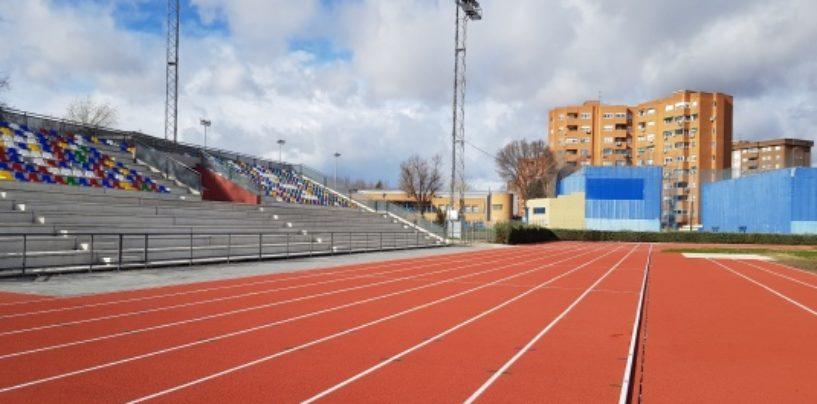 Finalizan los trabajos de rehabilitación y mejora de la pista de atletismo y gradas, piscina de verano y Pabellón Europa