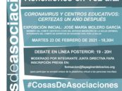 Reflexiones en Voz Alta: Coronavirus y Centros Educativos. Certezas un año después