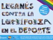 Ayuntamiento, Legaynés y clubes locales suman sus fuerzas para poner en valor el espíritu abierto y tolerante de Leganés en el Día contra la LGTBIfobia en el deporte